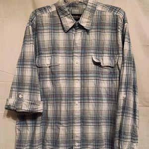 Eddie Bauer Men's Cotton Button Down Shirt